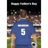 Blue Football Kit