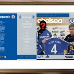 Personalised Chelsea Match Programme