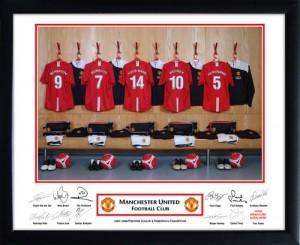 Personalised Man Utd Name On Shirt