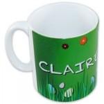Personalised Easter Garden Mug