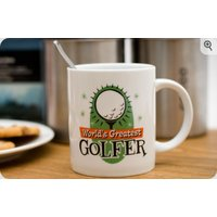 personalised worlds greatest golfer mug